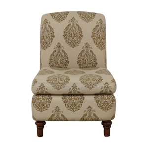 shop Pottery Barn Beige Upholstered Chair Pottery Barn Chairs