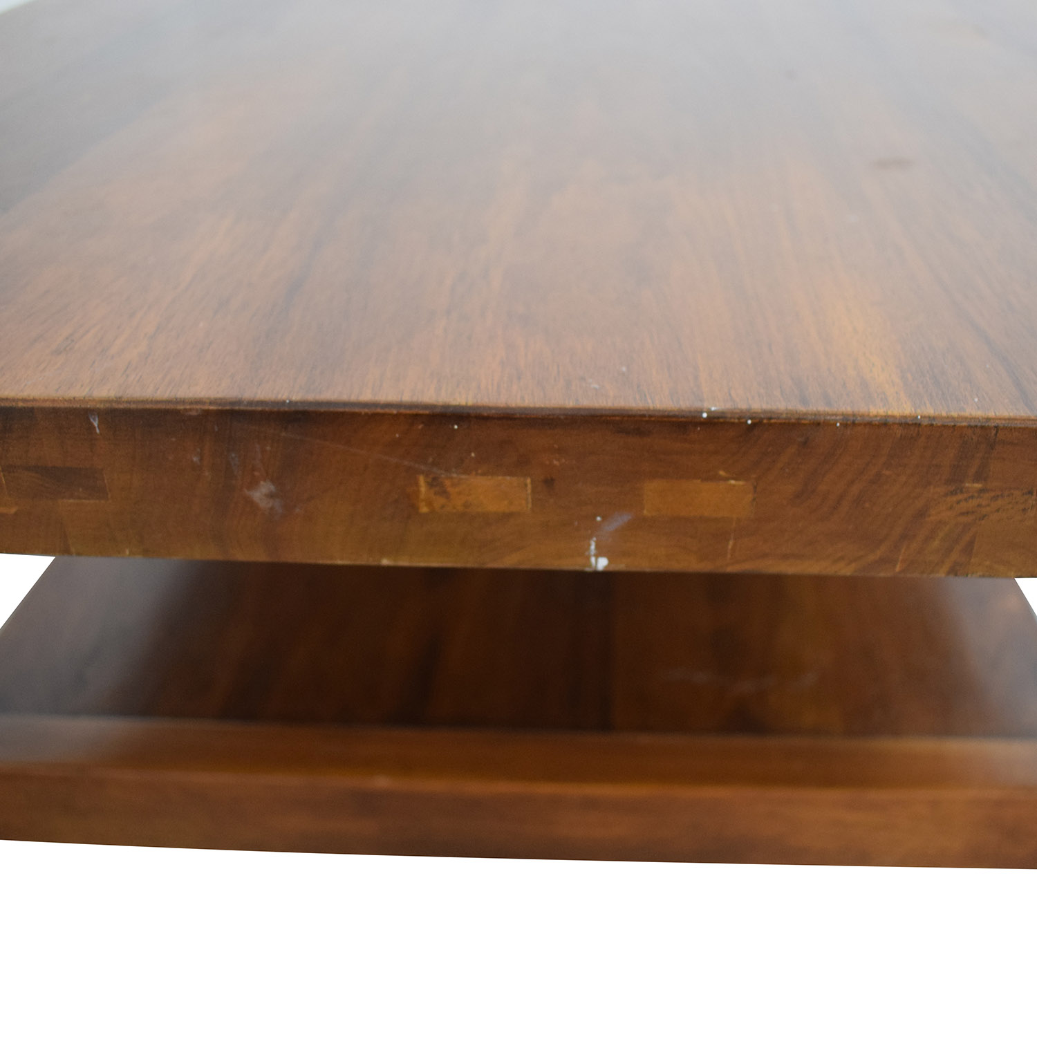 Two Tiered Rectangular Coffee Table