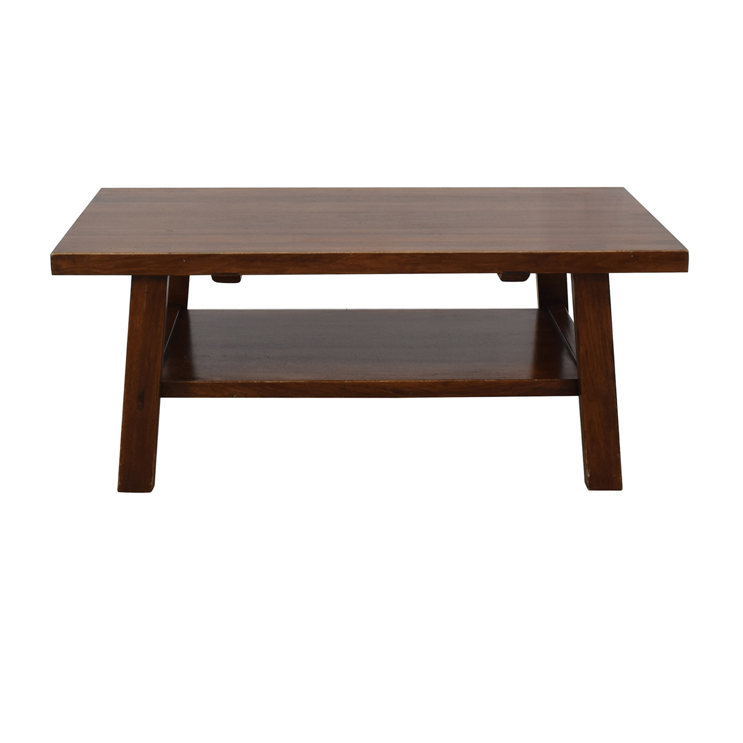 Two Tiered Rectangular Coffee Table Coffee Tables