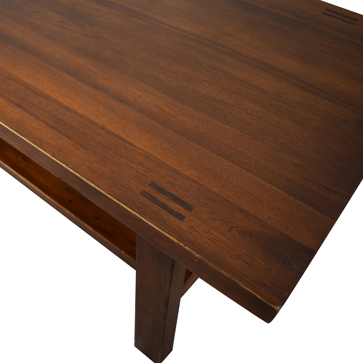 shop Two Tiered Rectangular Coffee Table