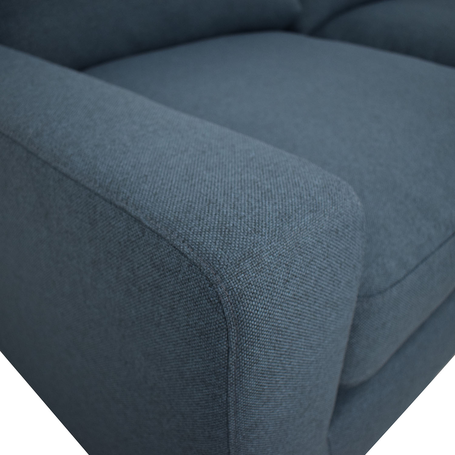 Sloan Blue L-Shaped Sectional / Sectionals