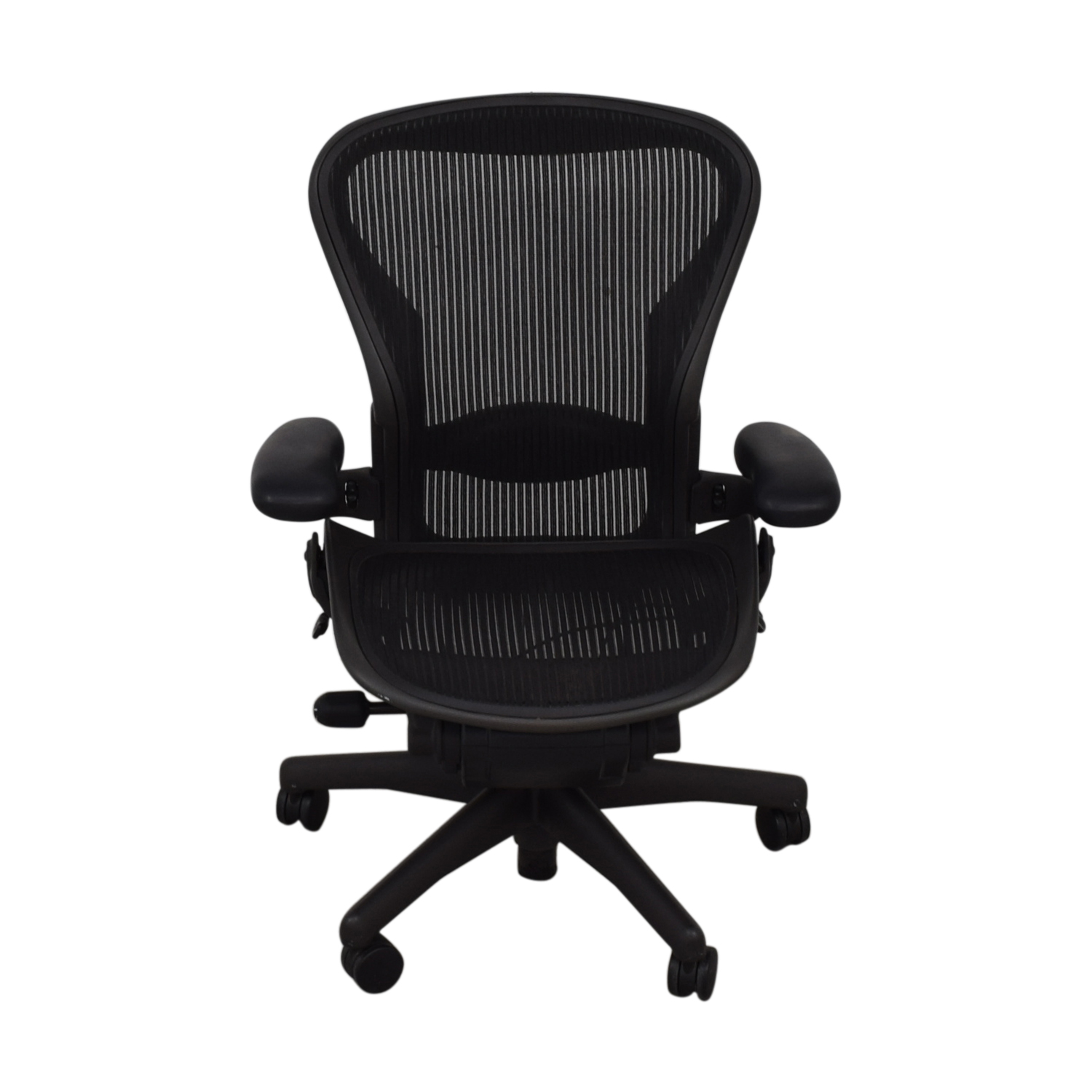 Magnificent 76 Off Herman Miller Herman Miller Aeron Size B Black Office Desk Chair Chairs Forskolin Free Trial Chair Design Images Forskolin Free Trialorg