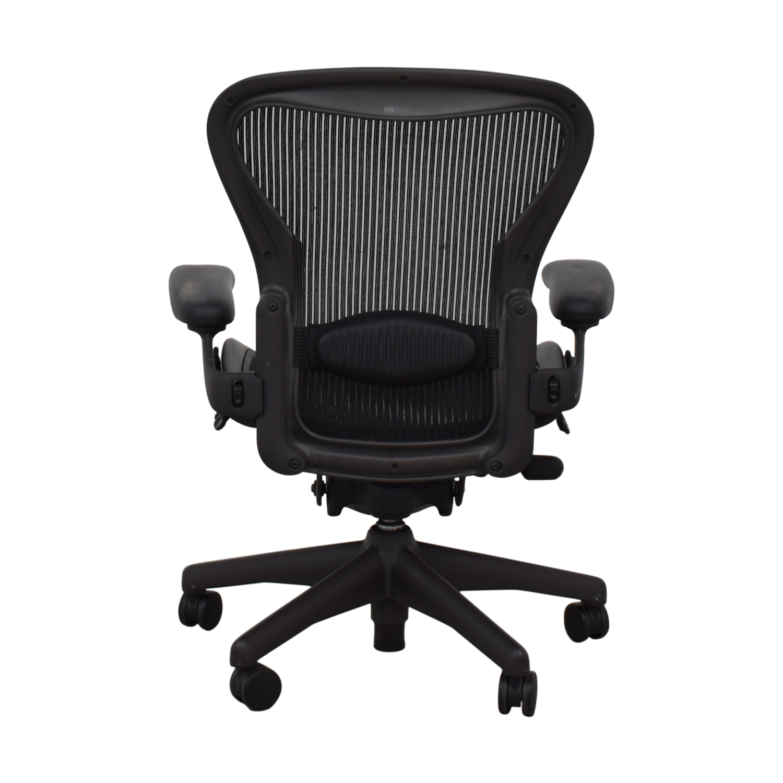 Herman Miller Herman Miller Aeron Black Full Mesh Desk Chair coupon
