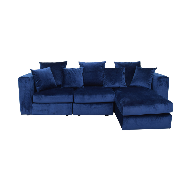 Interior Define Toby Right Chaise Sectional used