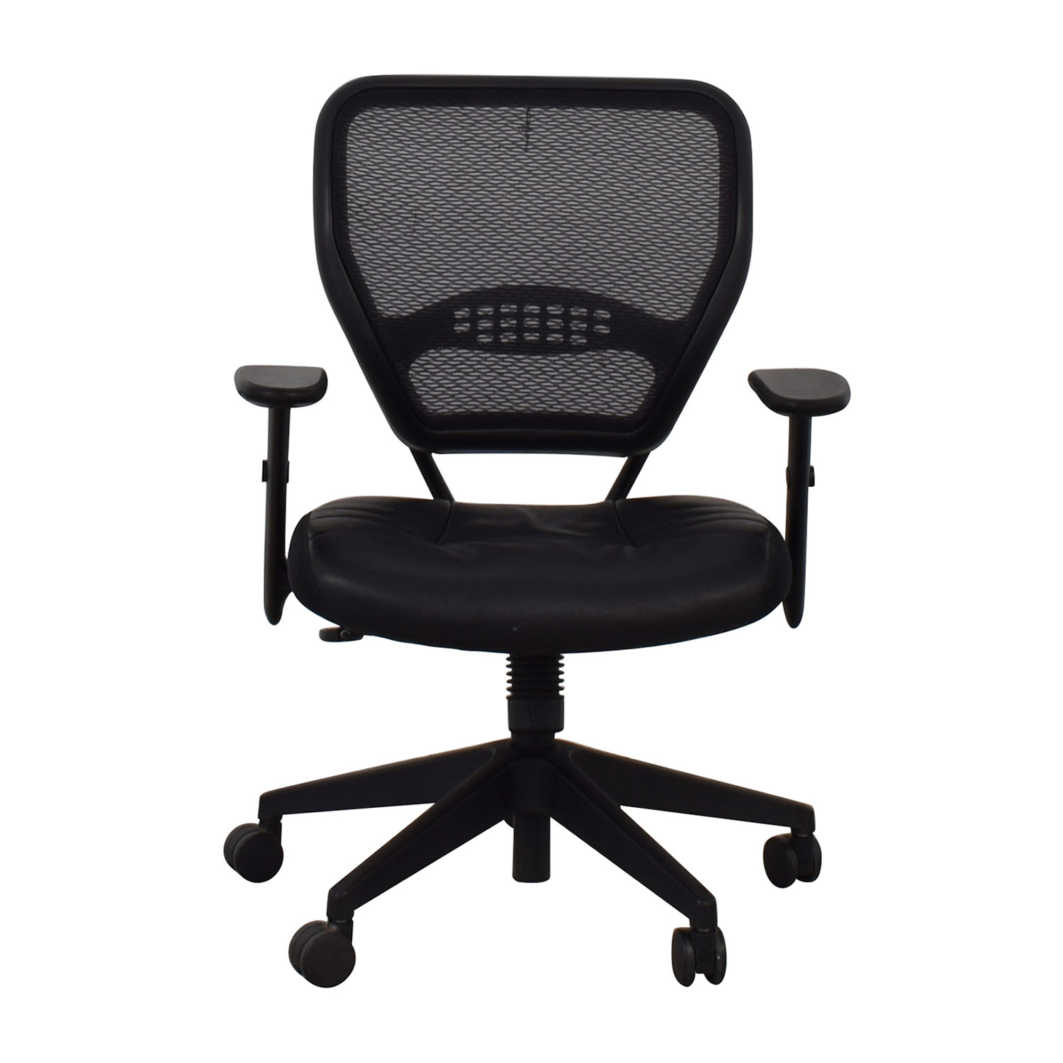 buy Aero Black Mesh Desk Chair Aero Home Office Chairs