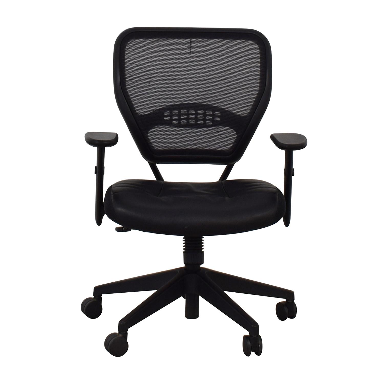 Buy Aero Aero Black Mesh Desk Chair Online