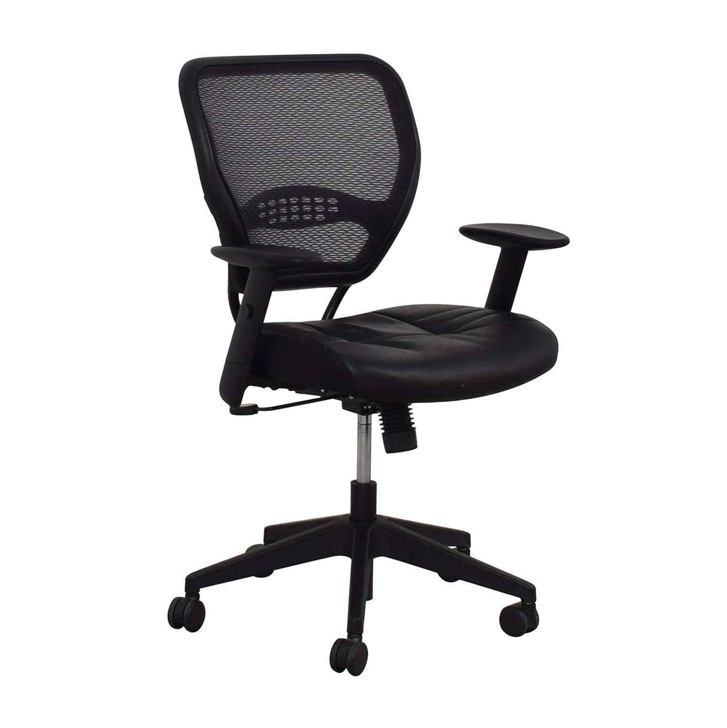 buy Aero Aero Black Mesh Desk Chair online