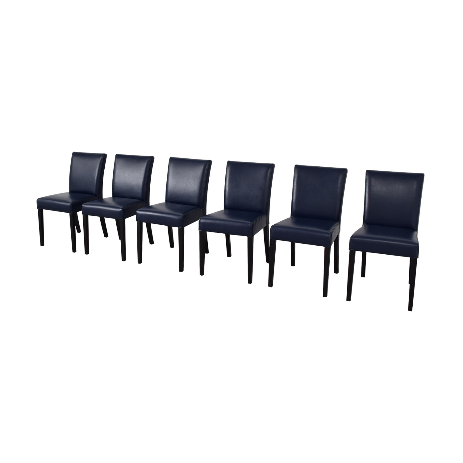Crate & Barrel Lowe Dining Chairs / Dining Chairs