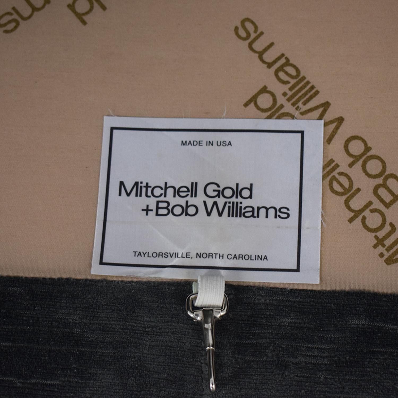 Mitchell Gold + Bob Williams Mitchell Gold + Bob Williams Hunter Two-Cushion Studio Sofa