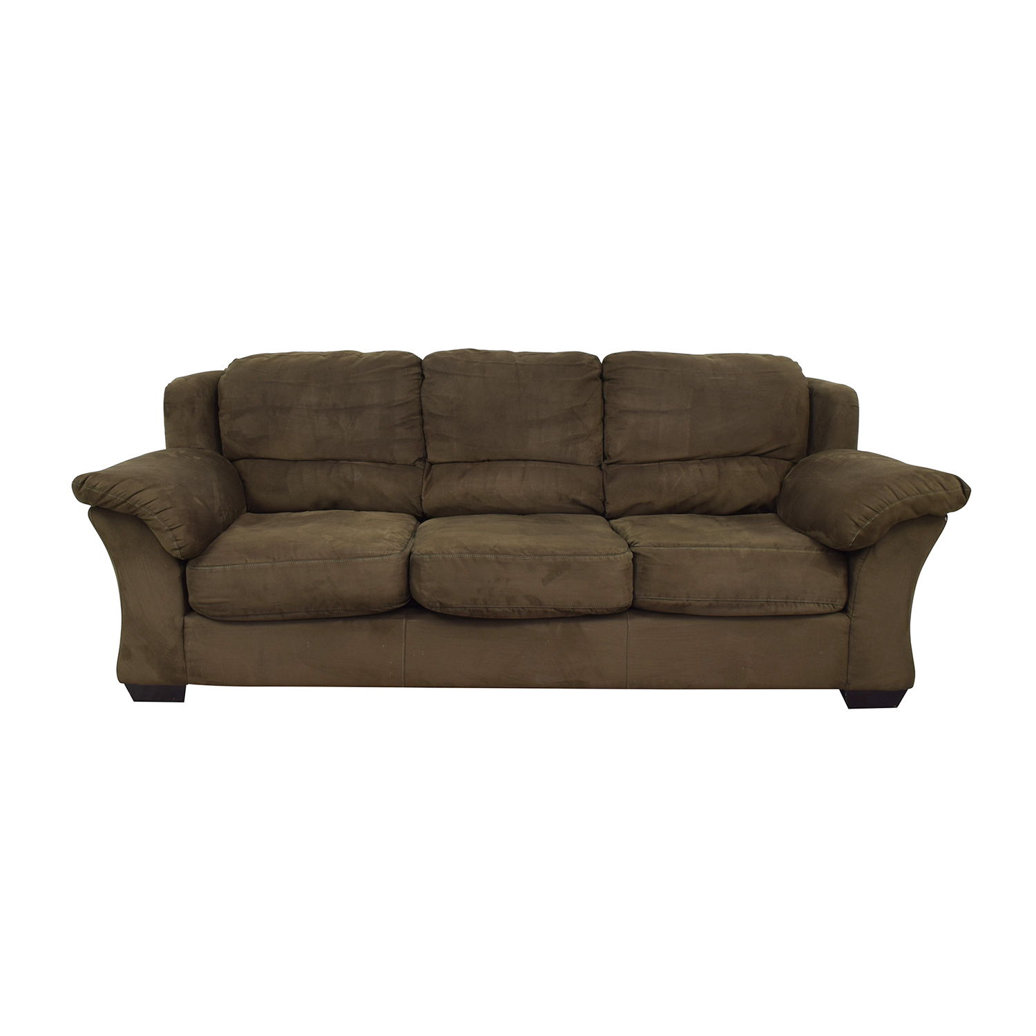 HM Richards Furniture Dark Green Couch / Sofas