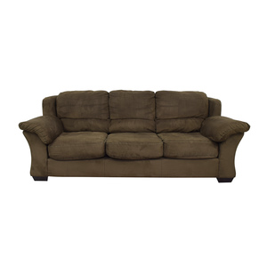 HM Richards Furniture Dark Green Couch HM Richards Furniture