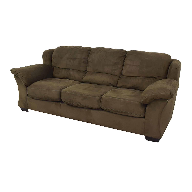 buy HM Richards Furniture Dark Green Couch HM Richards Furniture