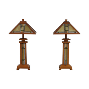 Mission Style Table Lamps / Decor