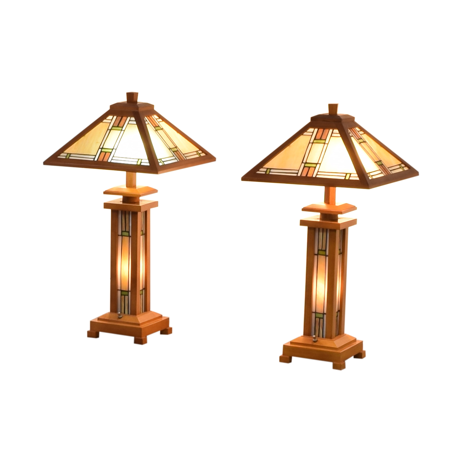 Mission Style Table Lamps for sale
