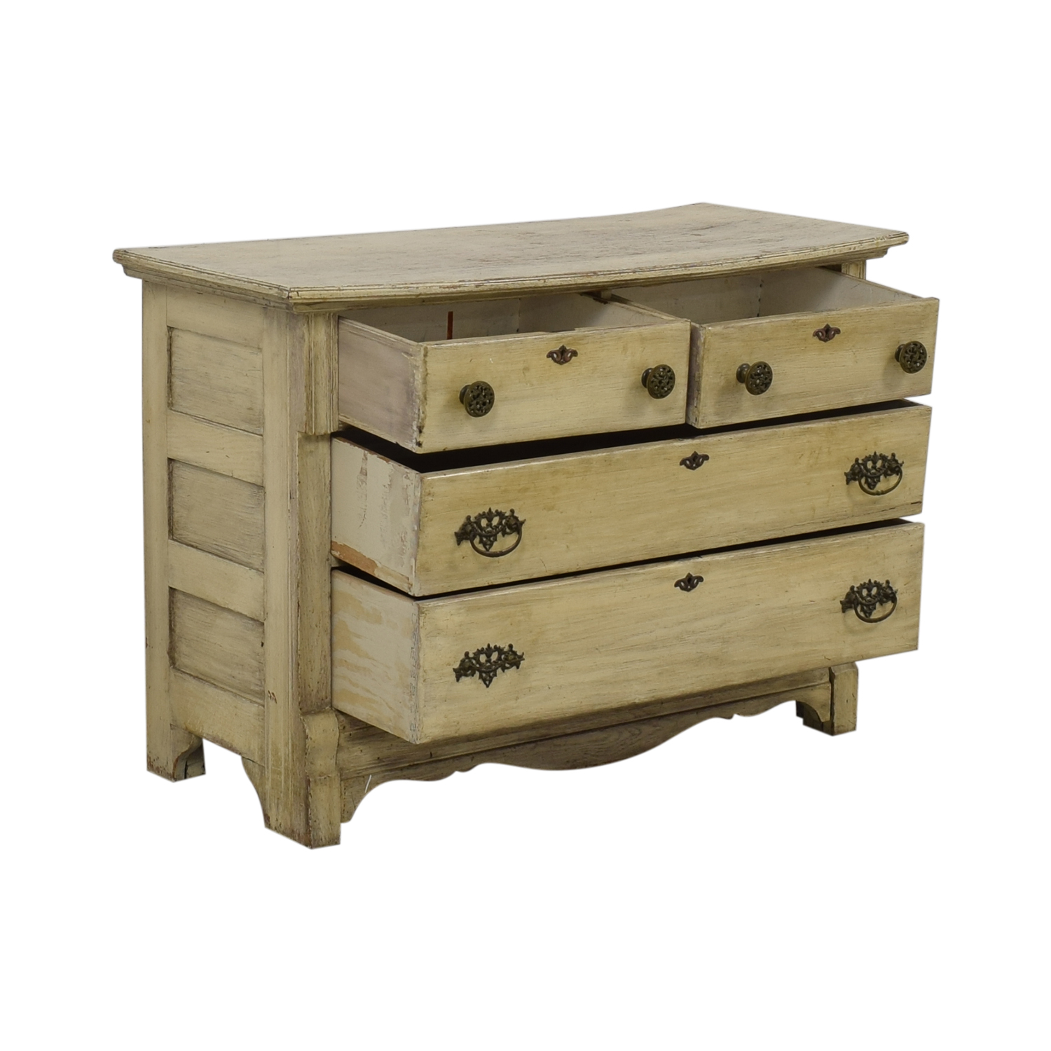 buy Distressed Antique Four Drawer Dresser
