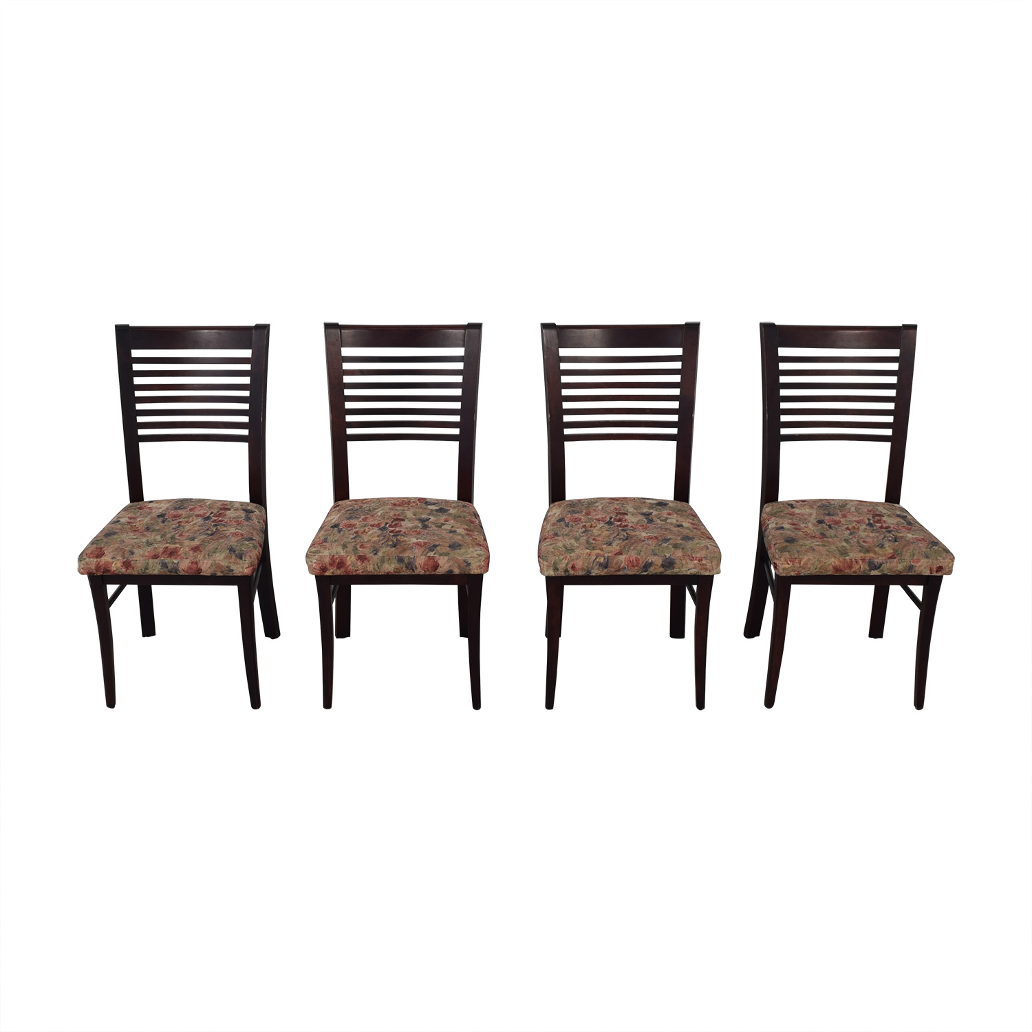 Canadel Canadel Floral Upholstered Dining Chairs used
