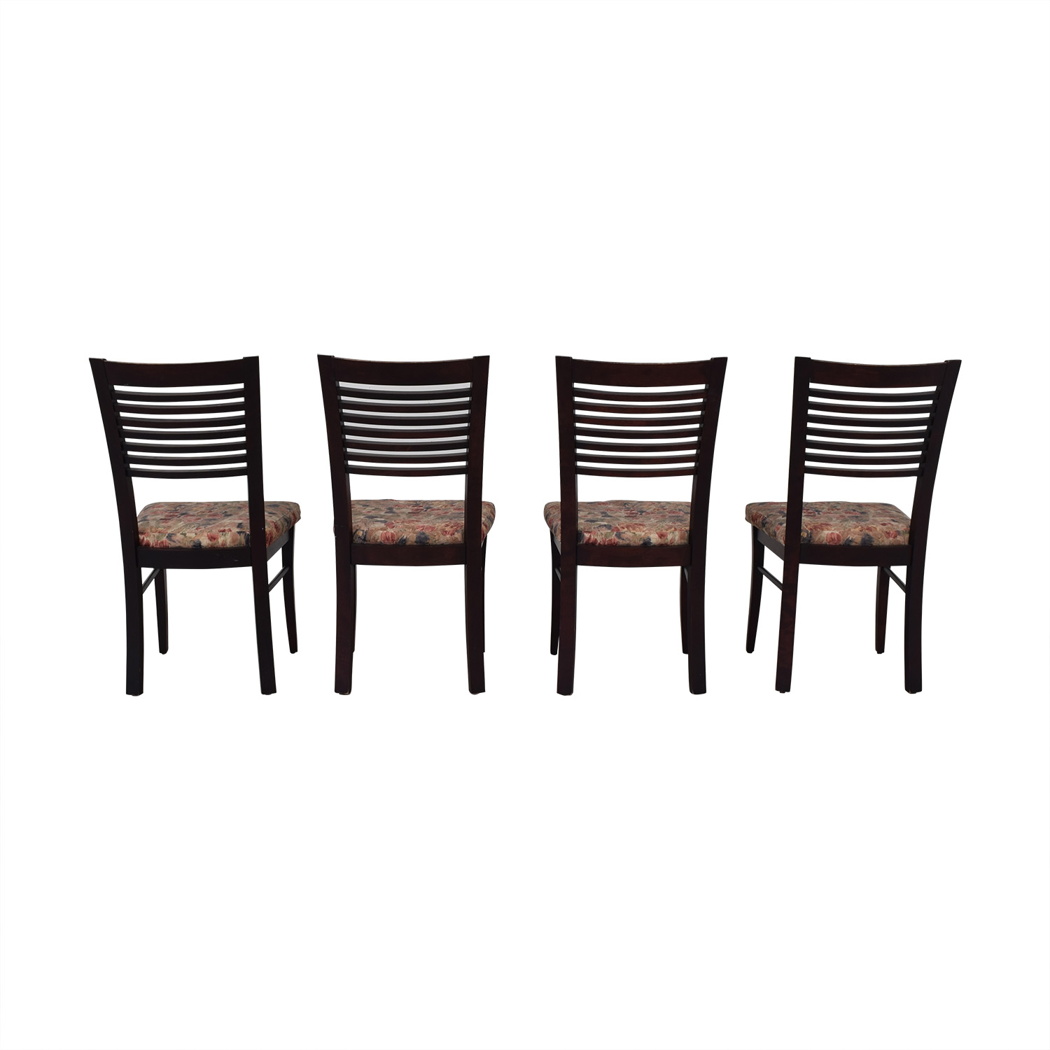 Canadel Canadel Floral Upholstered Dining Chairs nj