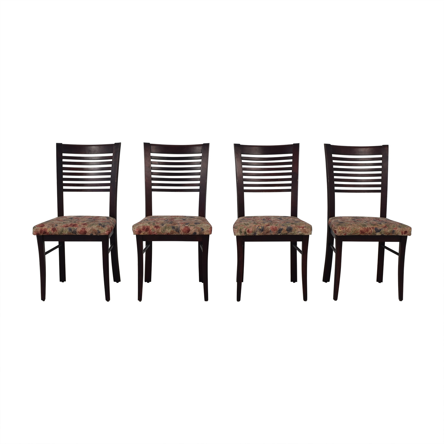 Canadel Canadel Floral Upholstered Dining Chairs dimensions