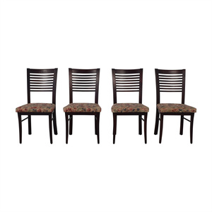 Canadel Canadel Floral Upholstered Dining Chairs coupon