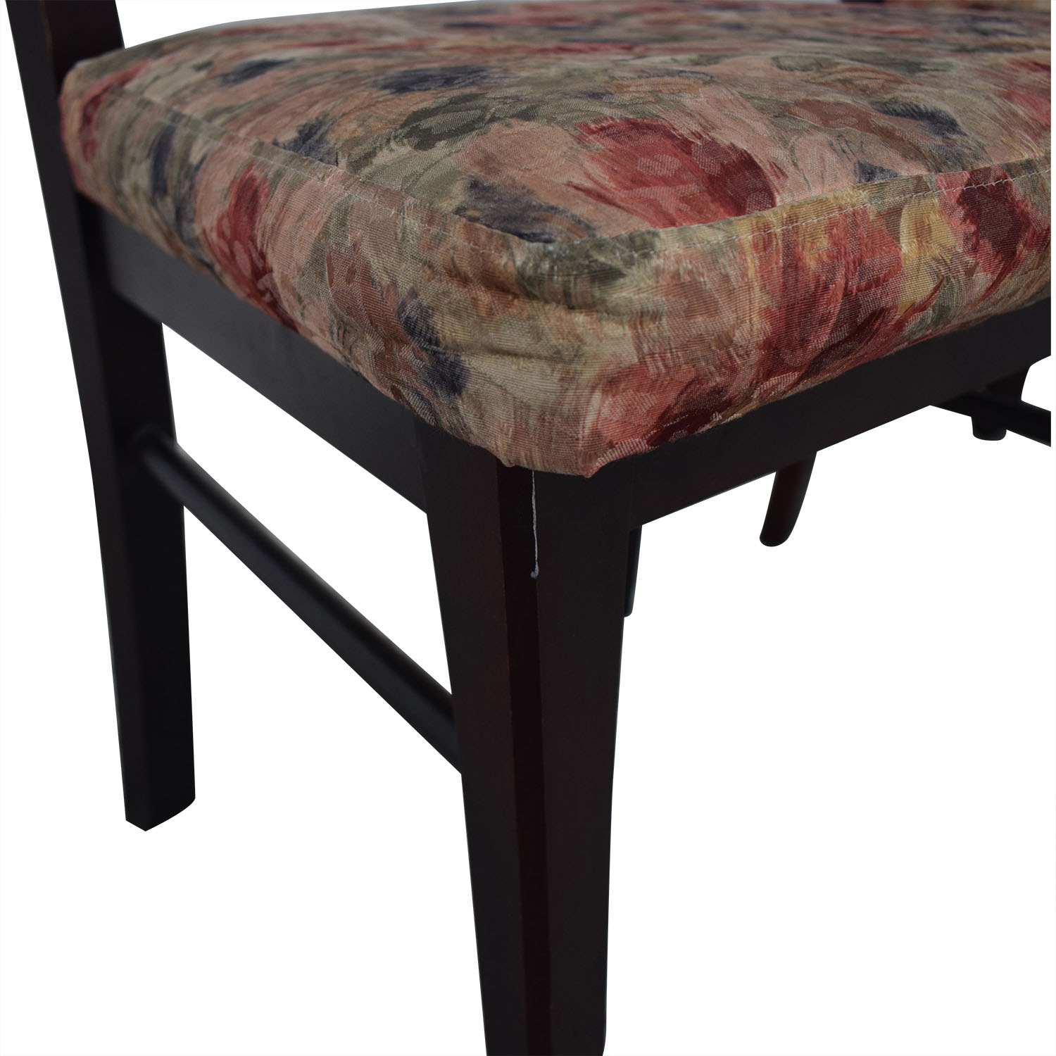 Canadel Floral Upholstered Dining Chairs / Chairs