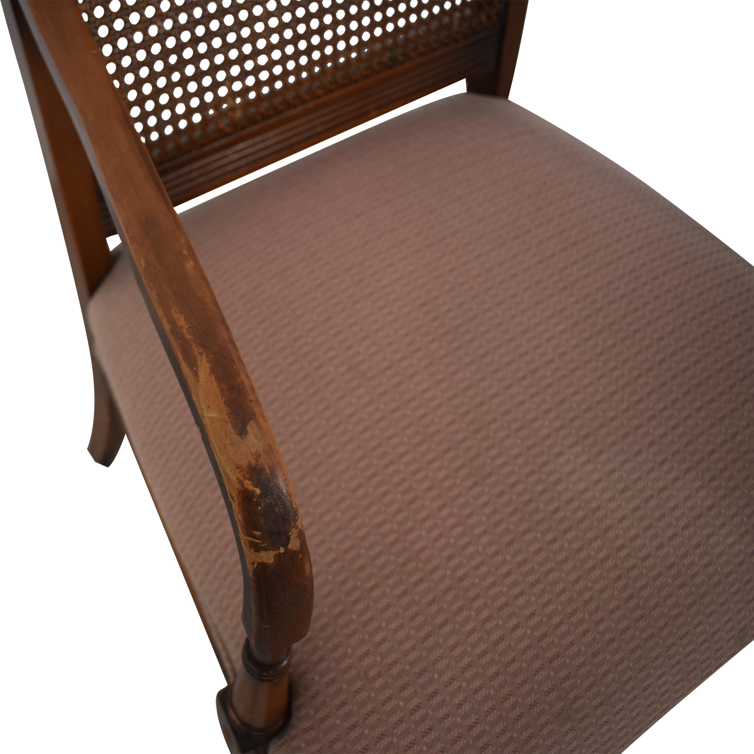 Vintage Rattan Arm Chair