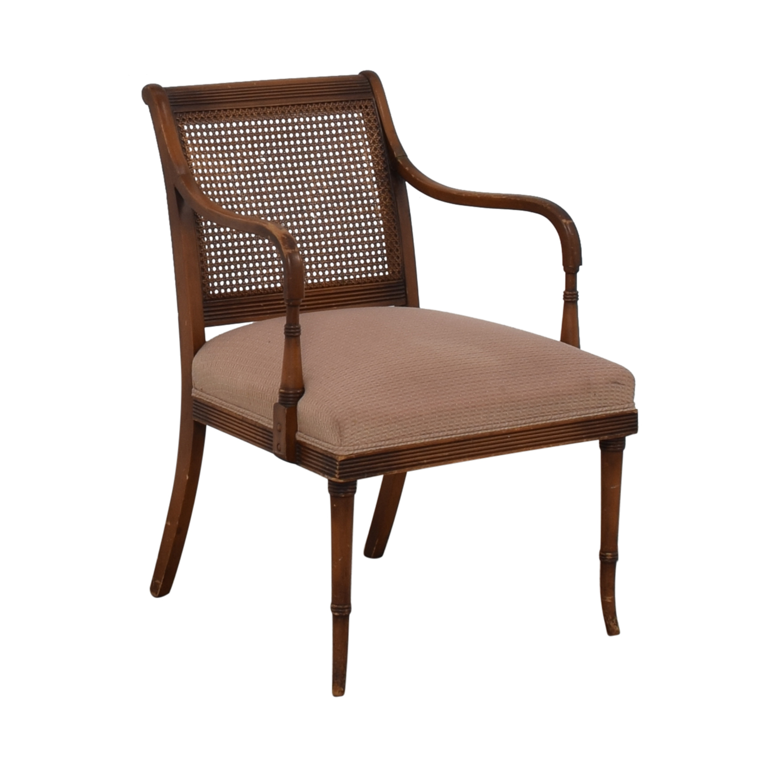 Vintage Rattan Arm Chair for sale