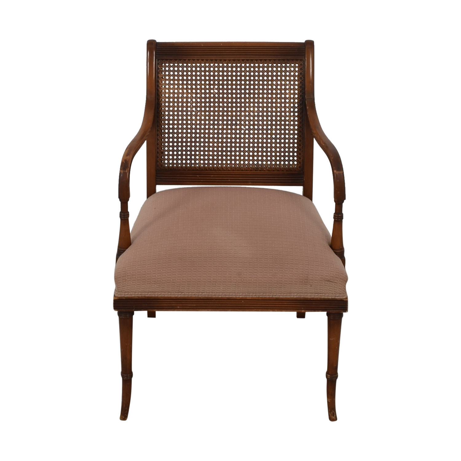 Vintage Rattan Arm Chair Chairs