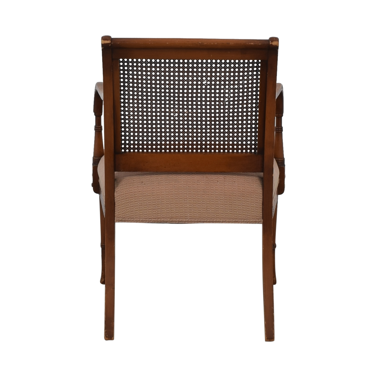 Vintage Rattan Arm Chair / Chairs
