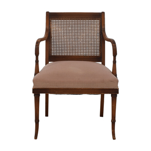 Vintage Rattan Arm Chair second hand