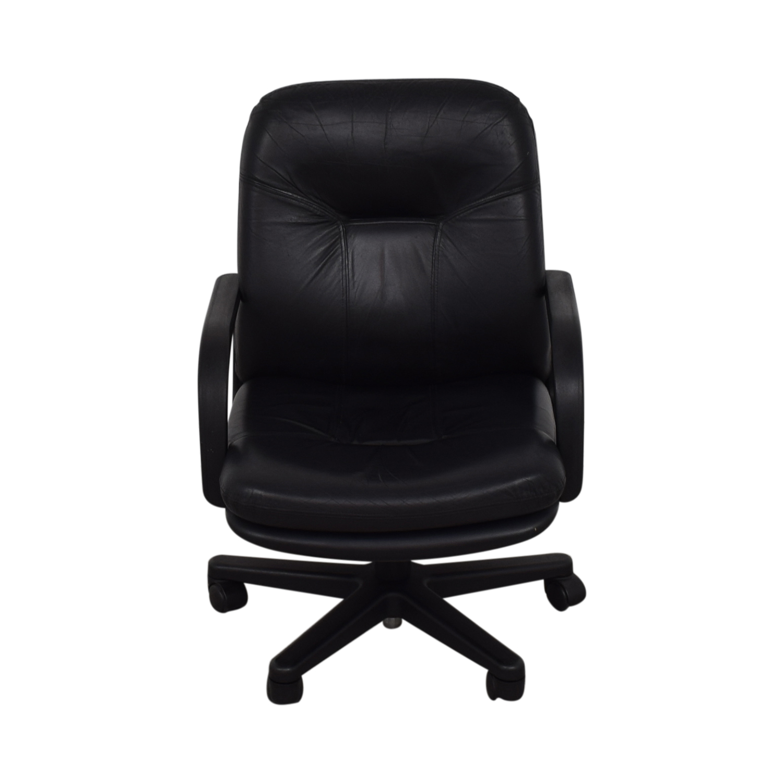 Black Office Chair black