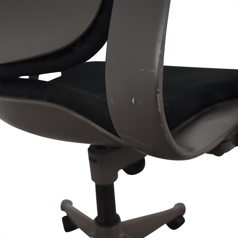 Black Full Mesh Office Chair dimensions