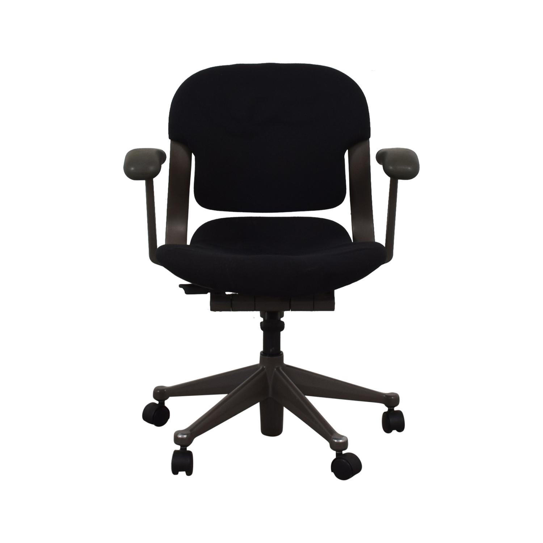 Black Full Mesh Office Chair on sale