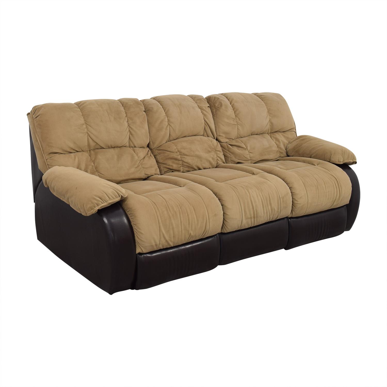 Berkline Reclining Sofa sale