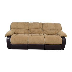 Berkline Reclining Sofa sale