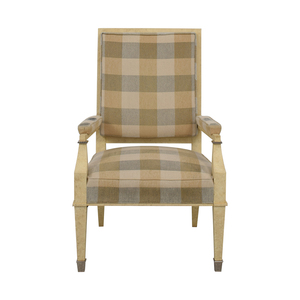 Kravet Kravet Plaid Accent Chair price