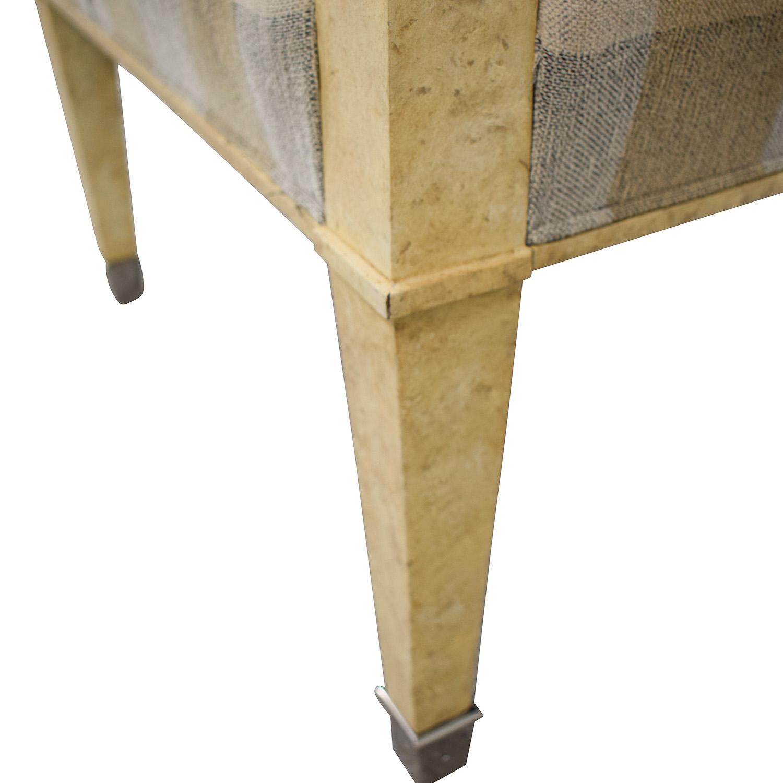 Kravet Kravet Plaid Upholstered Accent Chair dimensions