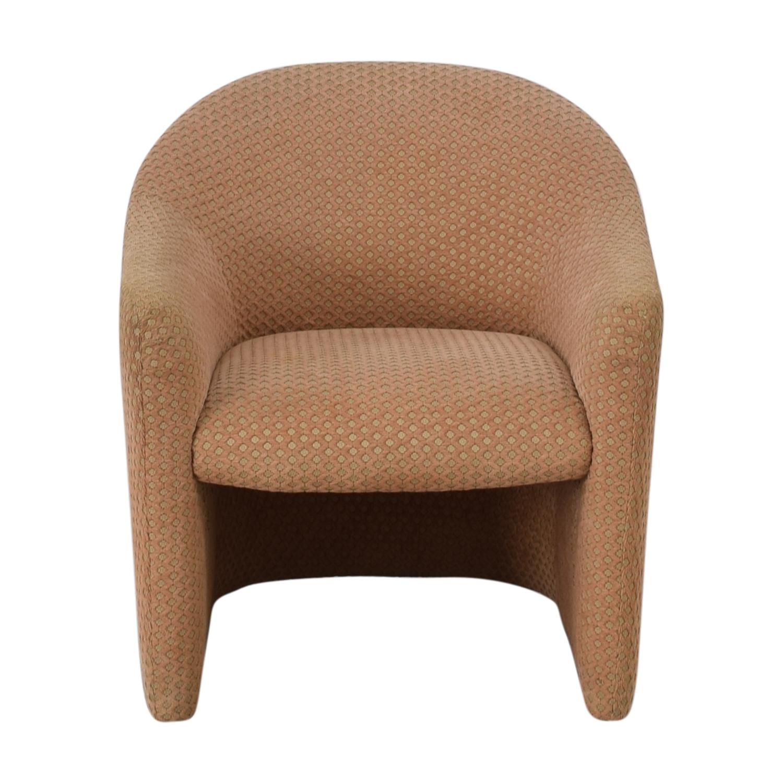 shop Gunlocke Company Beige Accent Chair Gunlocke Company Accent Chairs