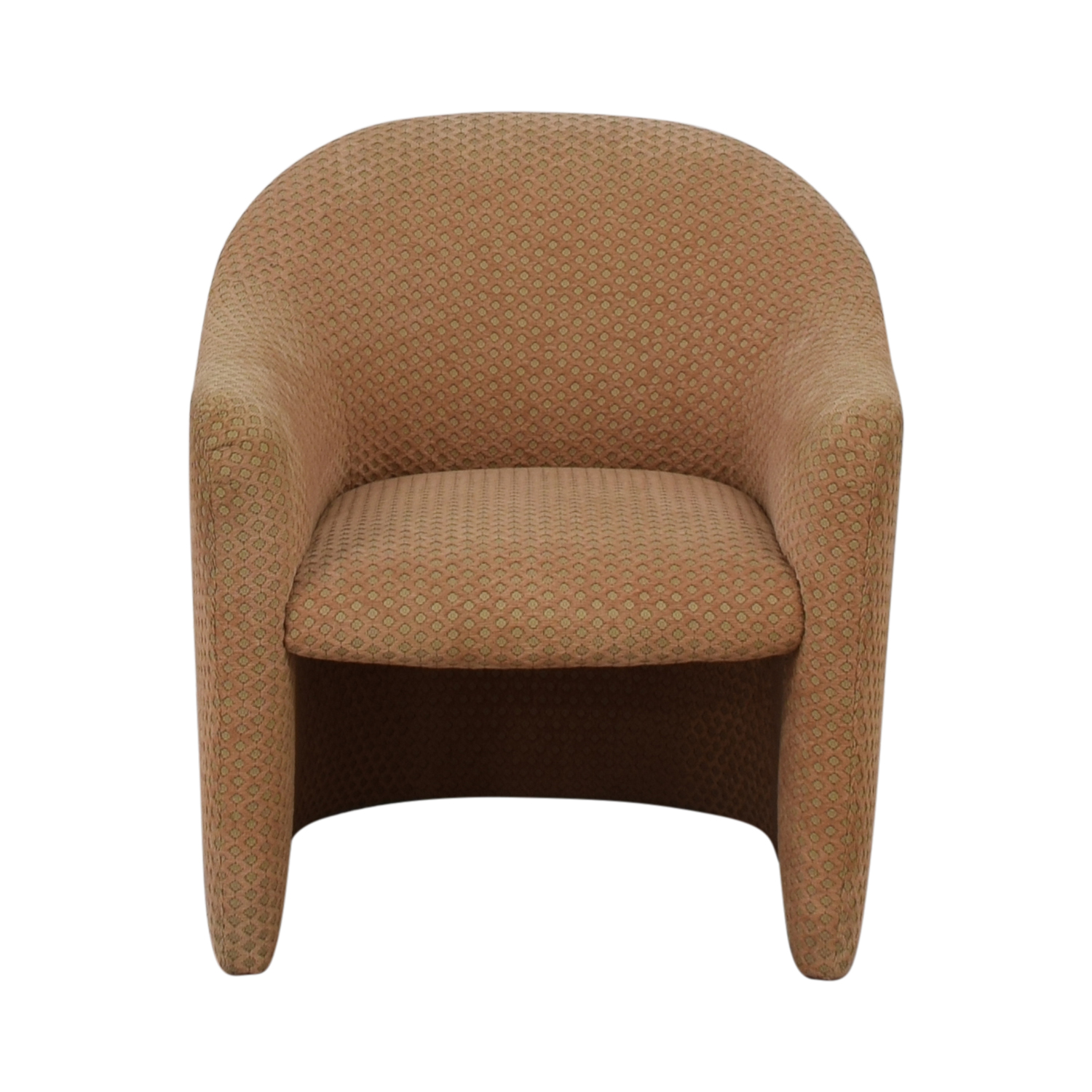 Gunlocke Company Gunlocke Company Dotted Accent Chair on sale