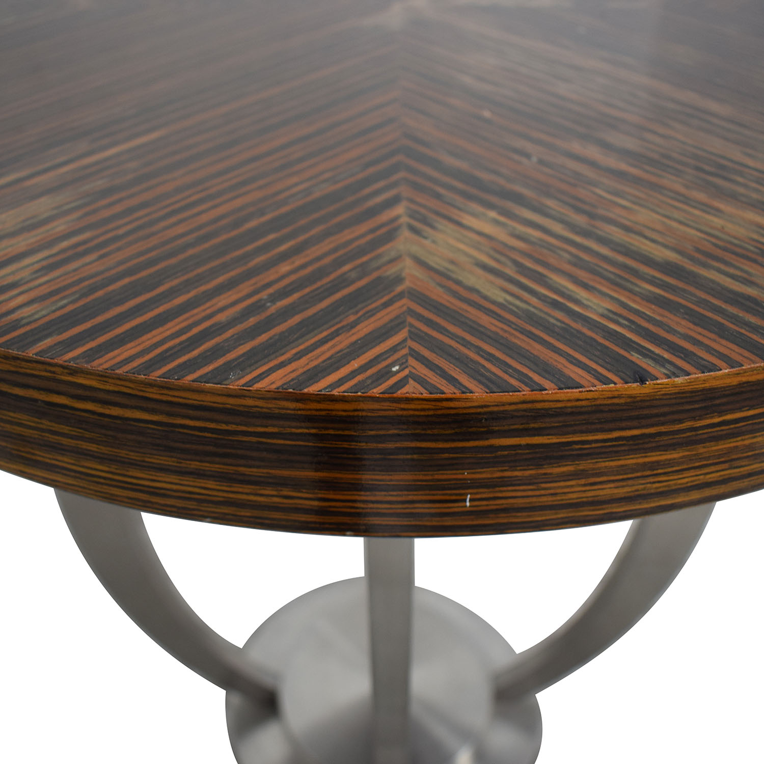 Round Accent Table used
