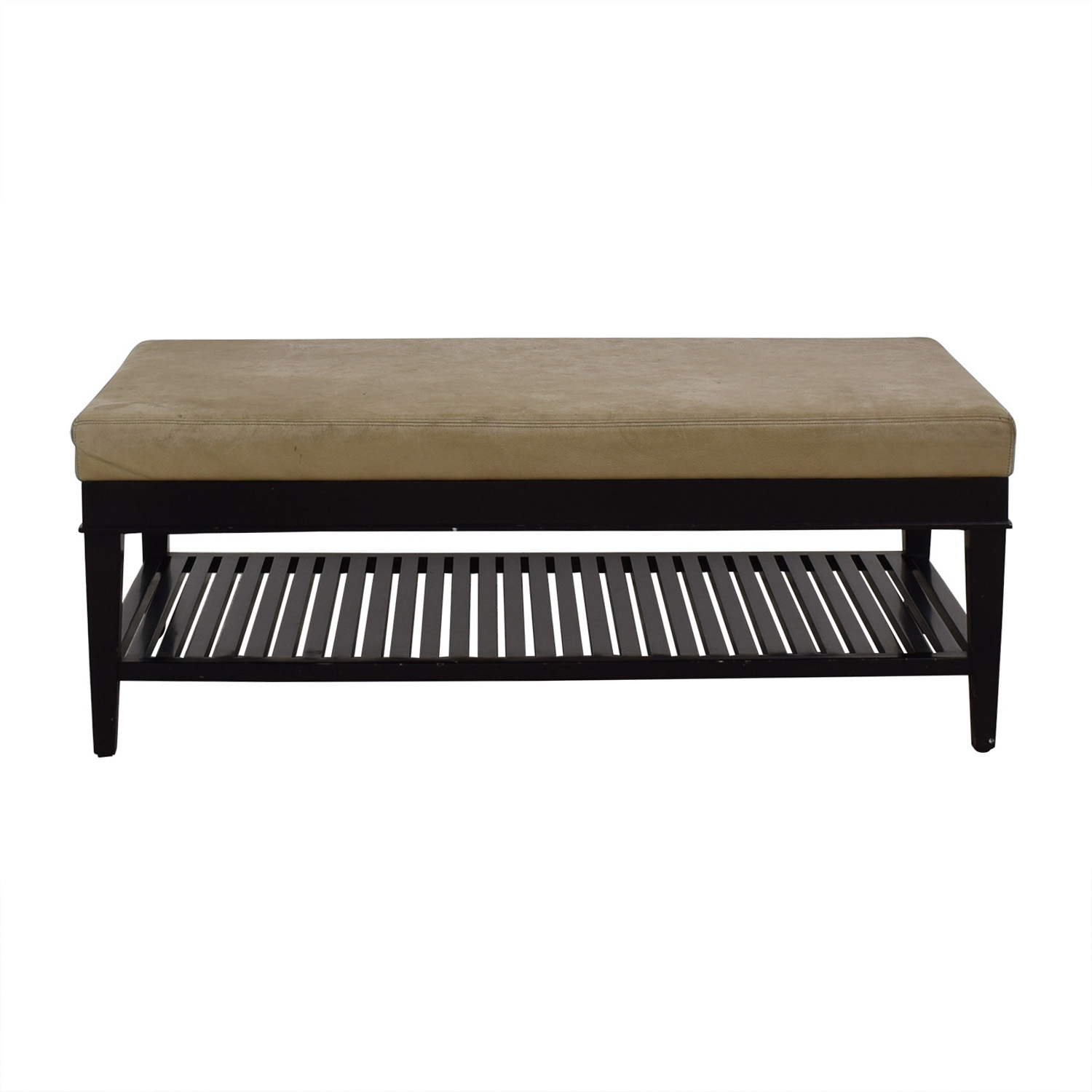 buy A. Rudin Beige Ottoman A Rudin Benches