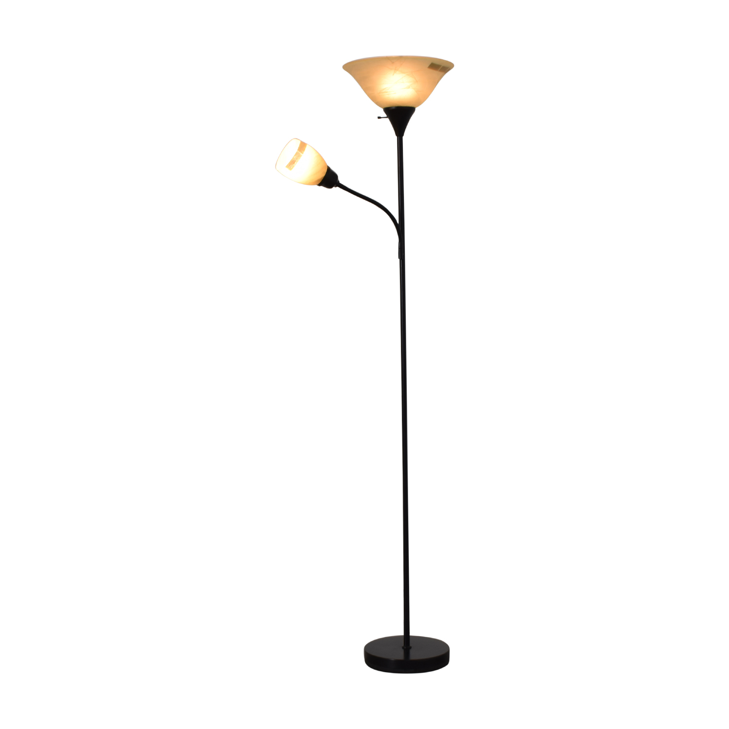 Black Double Floor Lamp coupon