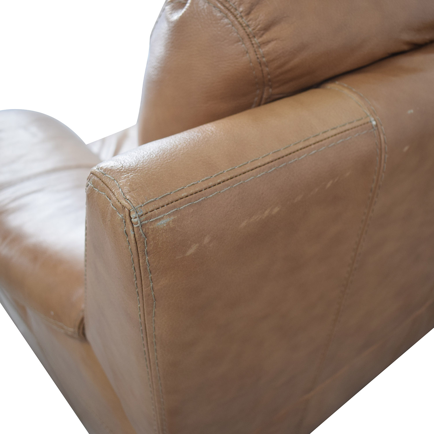 Leather Reclining Loveseat sale