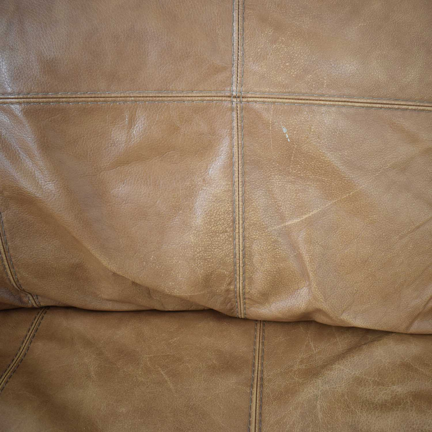 Leather Reclining Loveseat second hand