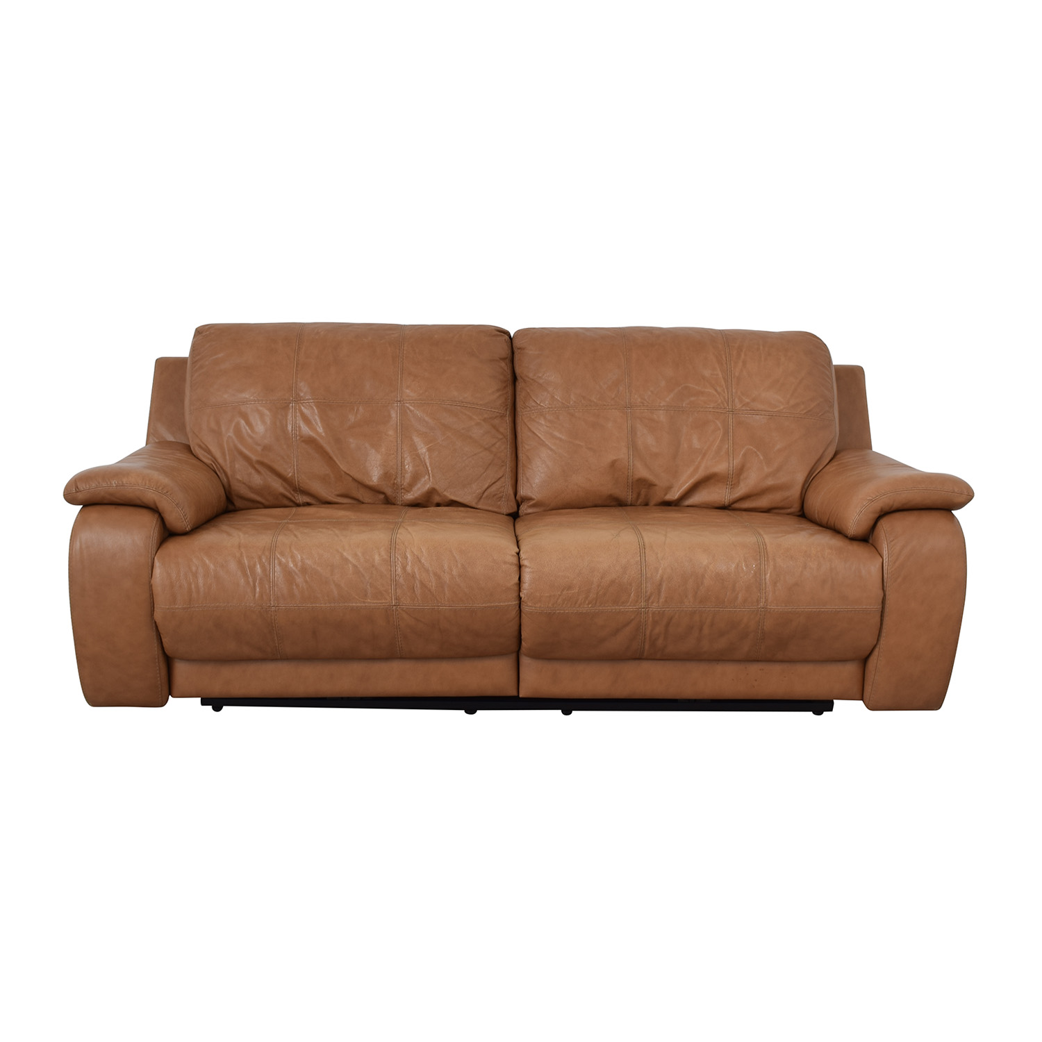 Leather Reclining Loveseat nyc