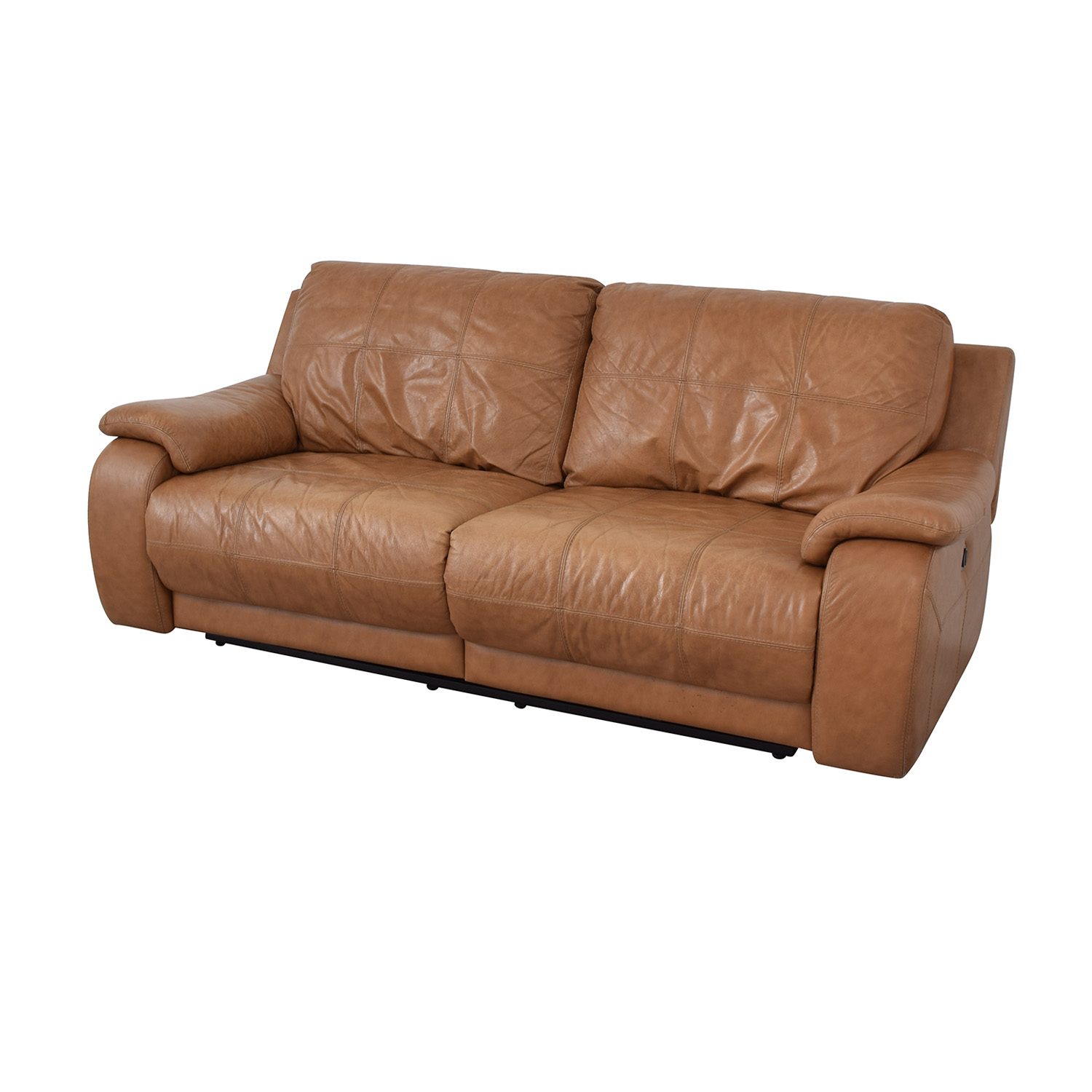 shop Leather Reclining Loveseat  Classic Sofas