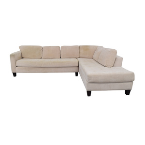 Macy's Macy's Beige Sofa discount