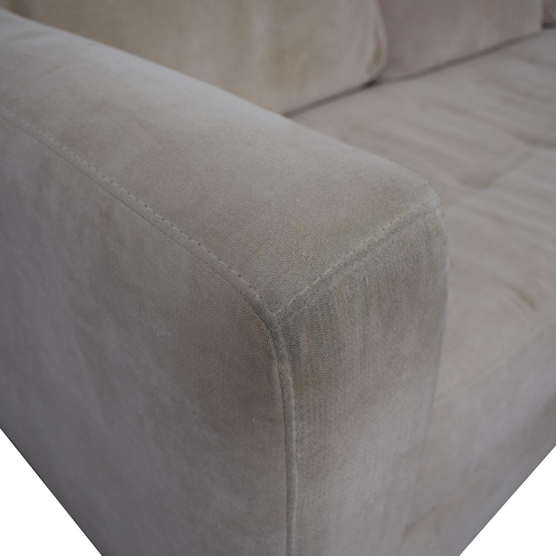 Swell 87 Off Macys Macys Beige Sofa Sofas Gamerscity Chair Design For Home Gamerscityorg
