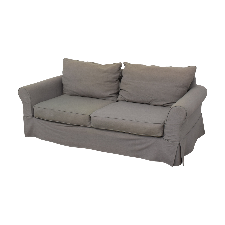 Pottery Barn Comfort Roll Arm Slipcovered Sofa Sofas
