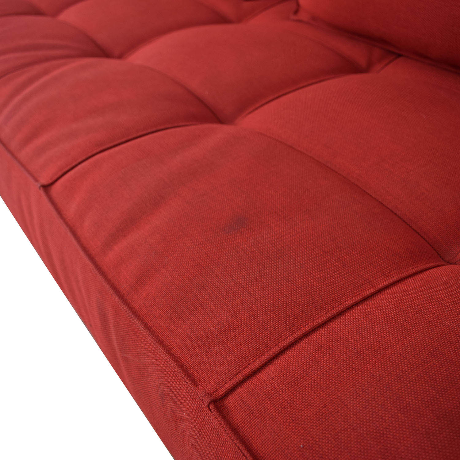 Innovation Living Innovation Living Red Tufted Twin Sleeper Sofa price
