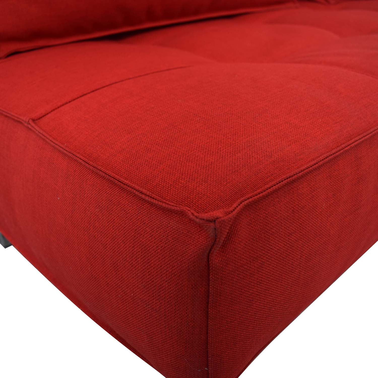Innovation Living Innovation Living Red Tufted Twin Sleeper Sofa red